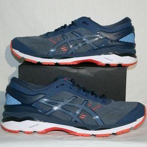 Asics Gel Kayano 24 Running Shoes Smoke Blue
